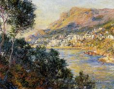 Claude Monet Monte Carlo Seen From Roquebrune oil painting reproductions for sale