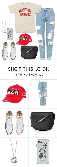 """Untitled #160"" by findthefinerthings ❤ liked on Polyvore featuring Top of the World, Topshop, Converse, Elsa Peretti and Rebecca Minkoff"