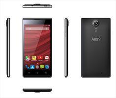 """Smartphone AIRIS TM51Q Potente Smartphone Quad Core de 5.0"""" IPS HD, con Android 5.1 y doble cámara."""