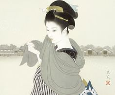 "Tasumi shimura "" Okawabata"" # 志村立美『大川端』"