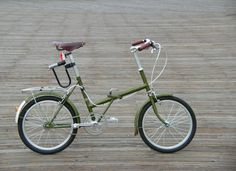 1969 Raleigh Twenty (rebuilt)