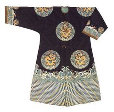 Chinese robes and surcoats @ Bonhams, San Francisco - Many on website + details, beautiful