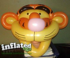 Tigger Balloon Mask