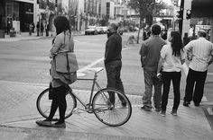 composition, location with other people NOT cycling