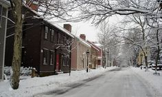 Historic Benefit Street - East Side of Providence #RI