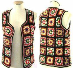 Crochet Jacket, Crochet Cardigan, Crochet Granny, Knit Crochet, Knitting Patterns, Crochet Patterns, Crochet Abbreviations, Crochet Fashion, Crochet Clothes