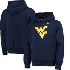 West Virginia Mountaineers Nike Lockup Pullover Hoodie - Navy - $59.99
