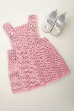 This crochet pattern is suitable for beginners and is part of a collection of modern crochet patterns for babies and children.. available for instant download today #crochet #crochetbaby #crochetpattern #moderncrochet #babycrochet #crochetforbaby Modern Crochet Patterns, Baby Patterns, Baby Girl Crochet, Pinafore Dress, Crochet Clothes, Baby Dress, Pattern Design, Girls Dresses, Babies