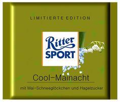 RITTER SPORT Fake Schokolade Cool-Mainacht