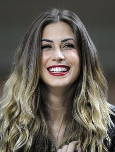 Melissa Satta Photos Photos - Melissa Satta attends the Serie A match between AC Milan and FC Internazionale Milano at San Siro Stadium on October 7, 2012 in Milan, Italy. - AC Milan v FC Internazionale Milano - Serie A