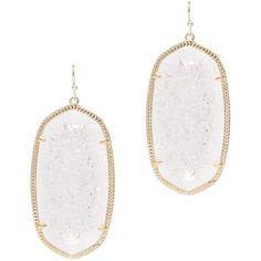 Rental Kendra Scott Danielle Crackle Earrings ($10) ❤ liked on Polyvore featuring jewelry, earrings, pandora jewelry, 14k gold earrings, kendra scott jewelry, statement earrings and 14 karat gold jewelry
