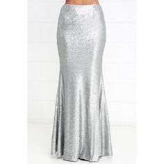 c830b5e898 The Sea Spray Matte Silver Sequin Maxi Skirt is as stunning as it gets, on  land or at sea! Small matte silver sequins travel into a classic mermaid  maxi ...