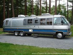 Airstream Motorhome Curbside - www.ClassicAirstreamMotorHome.com
