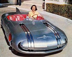 Pontiac Club de Mer Concept Car – Old Concept Cars Kombi Trailer, Weird Cars, Futuristic Cars, Futuristic Design, Unique Cars, Retro Futurism, Future Car, Amazing Cars, Awesome
