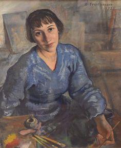 Zinaida Serebriakova, Self-portrait (1925)