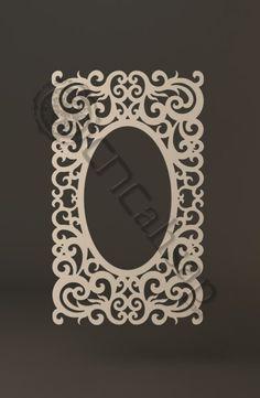 İHA33 Modern Dresuar Ayna Çerçevesi...Mirror Frame