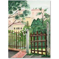 Trademark Fine Art Canvas Art Canvas Art by Valley Home, Size: 18 x 24, Multicolor