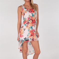 Bailey Blue Juniors Floral Print High-Low Dress. I have this dress!