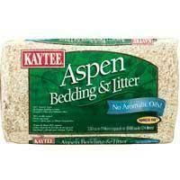 Kaytee Aspen Bedding & Litter CU IN 6-CASE