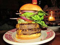 The Duplex Burger at Forrest Point in Bushwick