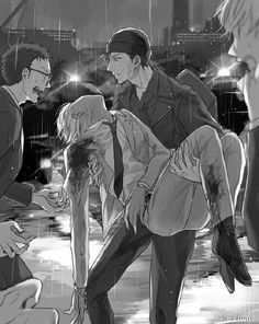 Detective Conan - Akai X Amuro Manga Art, Manga Anime, Super Manga, Detektif Conan, Detective Conan Wallpapers, Amuro Tooru, Kaito Kid, Dark Anime Guys, Arte Obscura