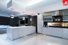 MODERN Archives | Easylife Kitchens Built In Cupboards, Life Kitchen, L Shaped Kitchen, Storage Design, Kitchen Organization, Vanity, House Design, Modern, Kitchen Designs