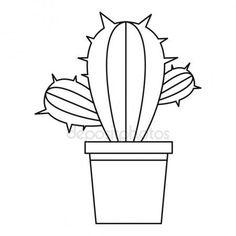Letöltés - Kaktusz növény ikon, vázlat stílusában — Stock Illusztráció #143596651