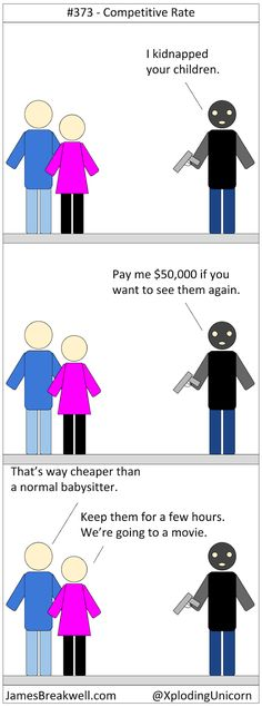 Competitive Rate ~ James Breakwell's Unbelievably Bad Webcomic