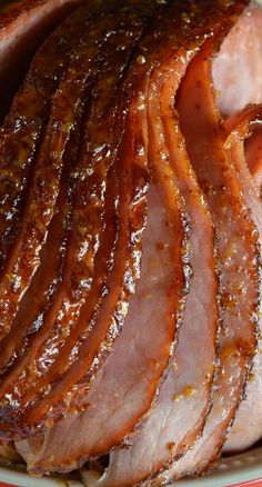 Pineapple Honey Glazed Ham