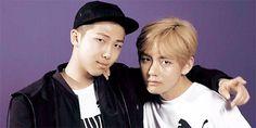 BTS | RAP MONSTER and V