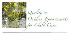 Info about the Preschool Outdoor Environmental Measurement Scale (POEMS)