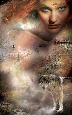 Cvr of @SAndrewSwann's WOLFBREED - really like the wolf!