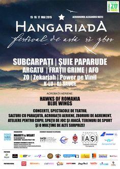 Hangariada 2015 are loc in luna mai