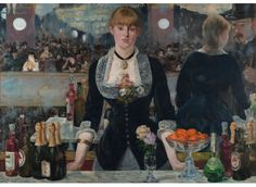 Manet: A Bar at the Follies-Bergere (40 pc. Wentworth Wooden Micro Puzzle)