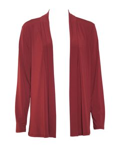 NONI B Travel Long Line Shrug    $49.95  Easy to wear, soft lapel long sleeve shrug, non crease Polyester/Elastane    Item Code: 042495
