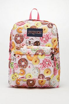 2488dab63df0 JanSport SuperBreak Donuts School Backpack - Womens Backpack - Multi - One