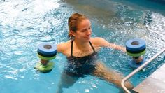 Endless Pools are used for more than just swimming! Use the current for resistance for water exercise or aquatic therapy. Water Aerobics Workout, Pool Workout, Endless Pools, Aquatic Therapy, Pool Exercises, Pool Ideas, Physical Therapy, Cardio, Swimming Pools