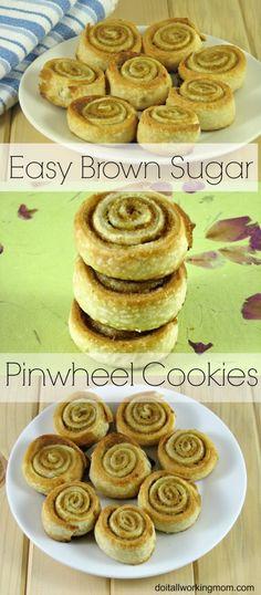 Do It All Working Mom - Brown Sugar Pinwheel Cookies