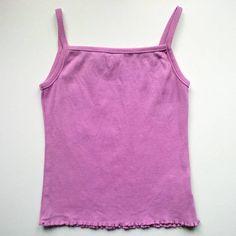 Dětské / dívčí růžové tílko na ramínka MISS E-VIE v. 92 - 98 z bazaru za 25 Kč | Dětský bazar.cz