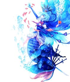 Miki Sayaka from Puella Magi Madoka Magica I will cry ;^; </3