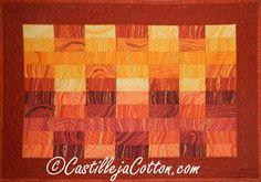 Sunlight Canyon Art Quilt, C$69.00