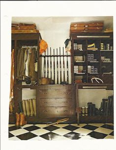 Nice - room for hunting clothes, as well as cubbies for ammo, tools, whatever. Very organized