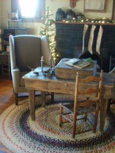 146 Best Primitive Desks Images Antique Desk Antique