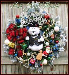 Sam the Snowman Wreath 2015 *AVAILABLE for PRE-ORDER *NOW* https://www.facebook.com/media/set/?set=a.807737255963678.1073742050.325927730811302&type=3