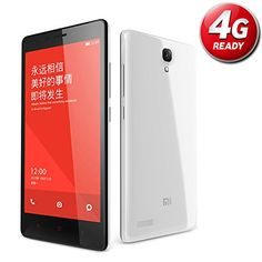 "Xiaomi RedMi Note 4 G - Smartphone libre Android (pantalla 5.5"", cámara 13 Mp, 8 GB, Quad-Core 1.2 GHz, 1 GB RAM), blanco Xiaomi"