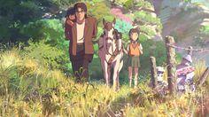 Hoshi wo Ou Kodomo/Children Who Chase Lost Voices/Journey to Agartha (2011). A film by Makoto Shinkai. Created by CoMix Wave Films.