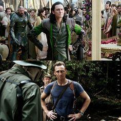 cinematic parallels loki, james or jonathan pine? Loki Avengers, Marvel Jokes, Loki Thor, Marvel Funny, Marvel Avengers, Loki Meme, Marvel Comics, Loki Funny, Loki Laufeyson