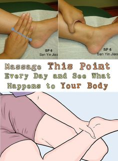 Massage This Point Every Day and See What Happens to Your Body