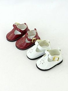 """Doll Sticky Strap PU Leather Shoes for 18/"""" AG American Doll Doll Clothes black"""