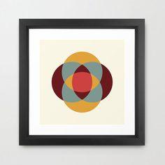 Third Eye Framed Art Print | dotandbo.com